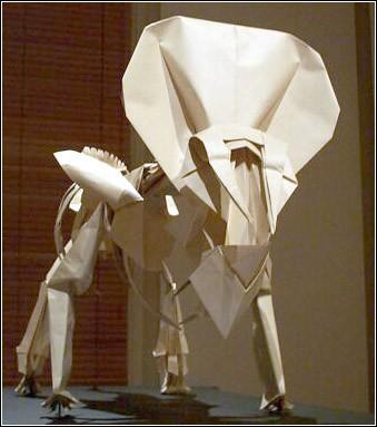 Как сделать из бумаги скелета оригами