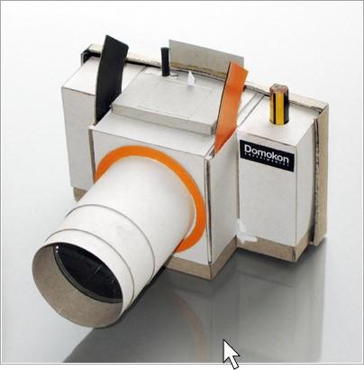 Как сделать из бумаги фотоаппарат