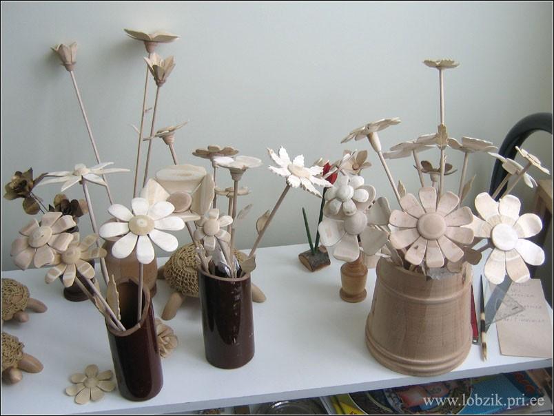 Как сделать цветок из дерева своими руками 26