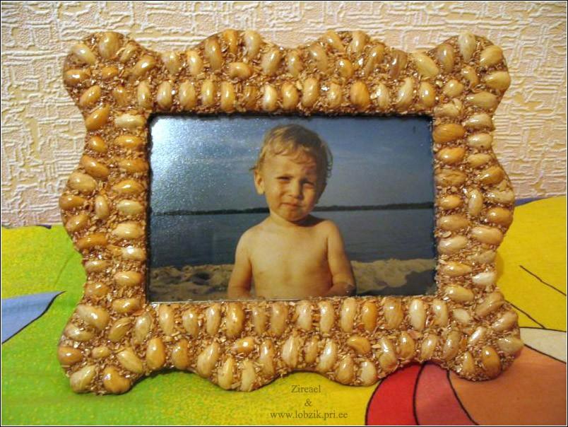 Картины из фисташек  фото