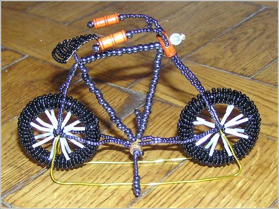 LOBZIK - ЛОБЗИК - Готовые изделия Велосипед из бисера.