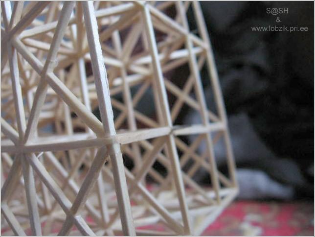 DataLife Engine Версия для печати Эйфелева башня из спичек.