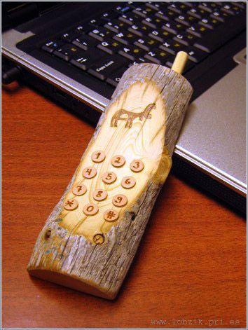 телефоны фото деревянные