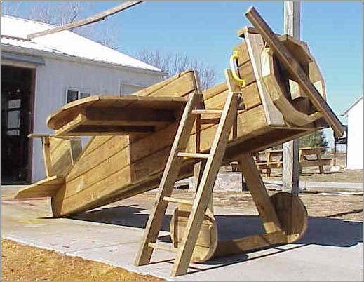 Отличные идеи для детской площадки.  В общем, мечтать не вредно.