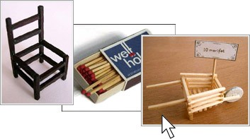 كيف تصنع كرسي من اعواد الكبريت بالصور match_link.jpg