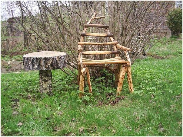 самодельная мебель из дерева - лучшие