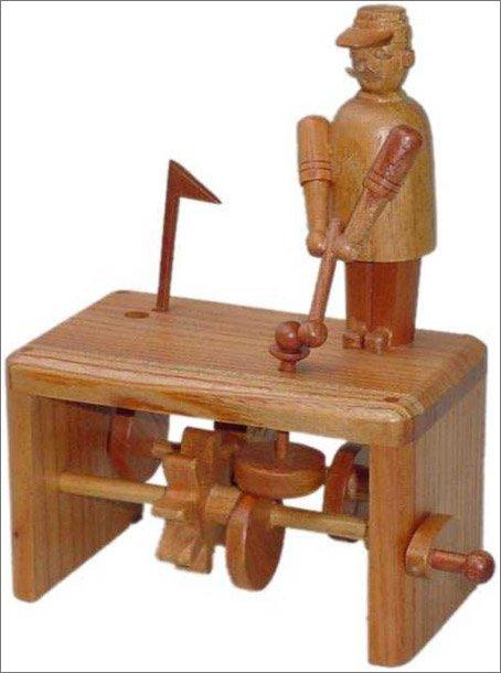 Механические деревянные игрушки своими руками