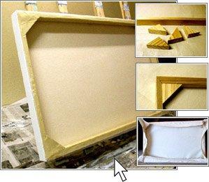 Изготовление рамок для модульных картин своими руками 76