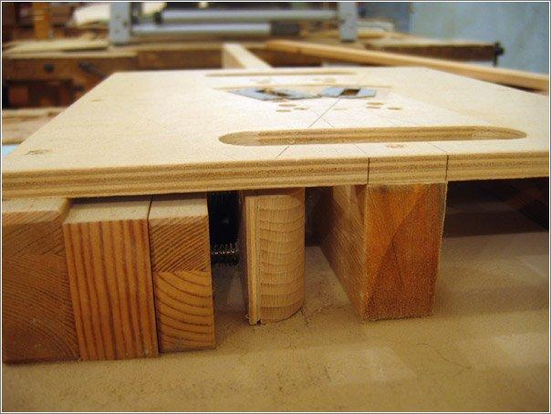 Как сделать мебельные жалюзийные двери?