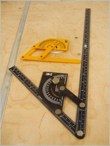 Угломер строительный механический своими руками5