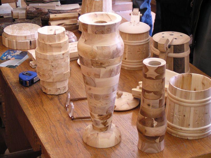 Точеные изделия из древесины своими руками