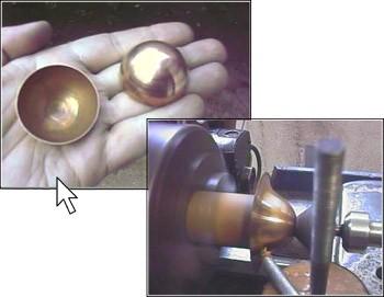 Как сделать шар из жести